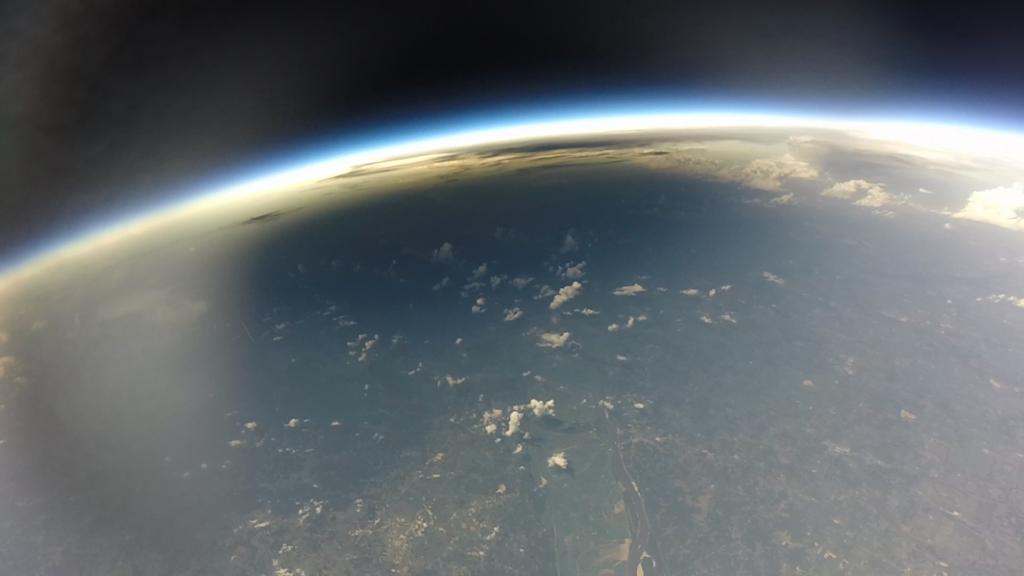 Solar eclipse umbra